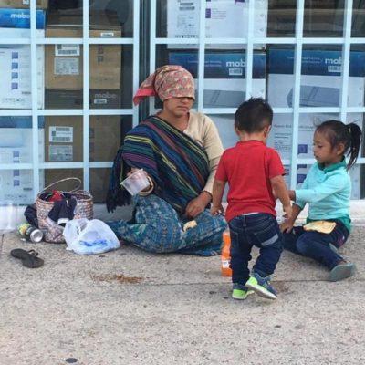 Piden solucionar el problema de mendicidad y ambulantaje en cruceros de Cancún