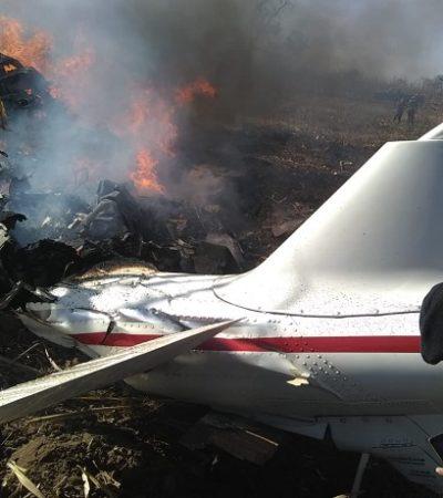 CASO PUEBLA: Descartan que helicóptero explotara durante vuelo; cayó a tierra de cabeza