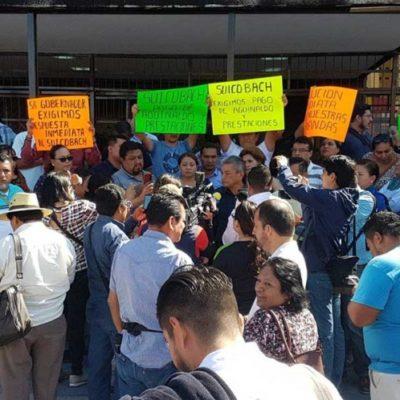 Dejan sin aguinaldo a 17 mil trabajadores de bachillerato y de nivel superior en Chiapas
