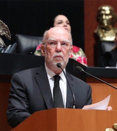 Elige Senado a González Alcántara como nuevo ministro de la SCJN