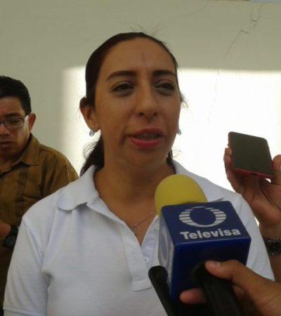 De no construir escuelas dentro de la Ciudad Militar de Cancún, se ampliarán salones en ocho centros educativos cercanos, dice Ana Vázquez, secretaria de Educación