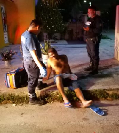 Mujer golpea en los testículos a su marido, tras enterarse de su infidelidad