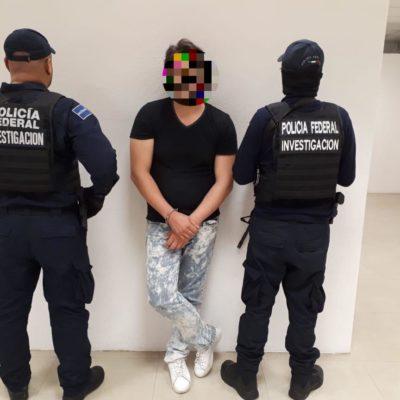 Cae presunto líder de red extranjera de distribución de droga en Playa del Carmen