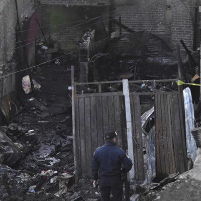 Revelan peritos que incendio en Iztapalapa en el que murieron siete menores fue provocado
