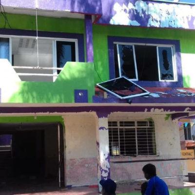 Atacan encapuchados la presidencia de El Bosque y la casa del alcalde de Bochil, en Chiapas