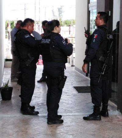SEGUIMIENTO | ASÍ FUE EL ASALTO EN LA BONAMPAK: Asaltantes despojaron a dos guardias de 200 mil pesos frente a un edificio de oficinas en Cancún