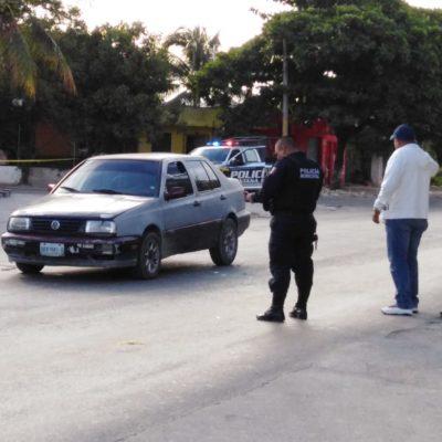 ACTUALIZACIÓN | EJECUTAN A CUSTODIO REGIÓN 219: Balean a automovilista que resultó ser un celador en la cárcel de Cancún; muere en el hospital