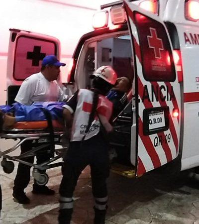 Aparecen, por separado, dos baleados en la Cruz Roja de Cancún