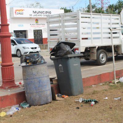 Por rezago en servicios públicos, se acumula la basura en Kantunilkín