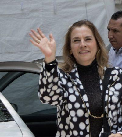 Discrepa Beatriz Gutiérrez Müller de tuiteras que preferían a Marta Sahagún