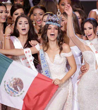 Gana certamen Miss Mundo 2018 la mexicana Vanessa Ponce de León