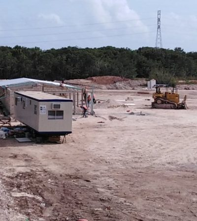 GALERÍA | Aquí se construirá el tan mentado C-5 de Cancún… y ya se ve un lento avance