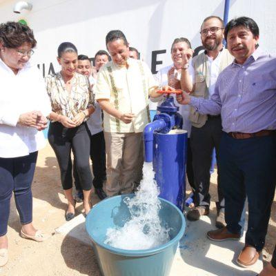 INVERSIÓN DE MÁS DE 59 MDP PARA TULUM: Supervisa Carlos Joaquín obras y servicios de agua potable, salud, educación y turismo