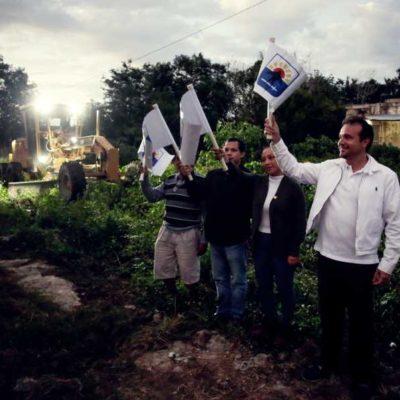 Pone en marcha Pedro Joaquín obras de ampliación en las redes de agua potable y drenaje sanitario en Cozumel