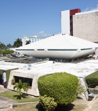Pide INBA a gobierno de Campeche suspender remodelación de recintos Ejecutivo y Legislativo