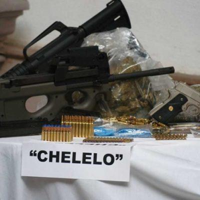 Montan operativo por presentación ante el juez de 'El Chelelo', líder del Cártel del Golfo, en Yucatán