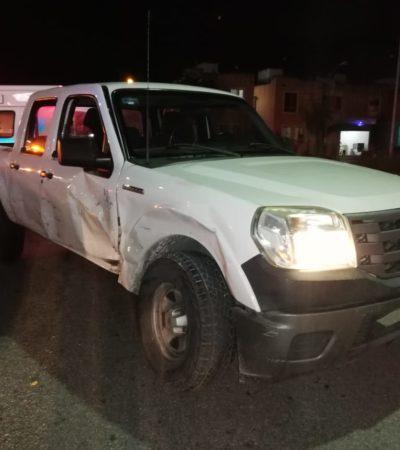 Estrella su carro por un desamor en Playa del Carmen