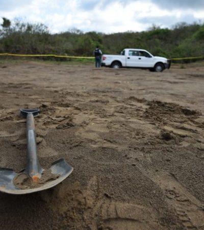Localizan nueva fosa clandestina en Colinas de Santa Fe, Veracruz
