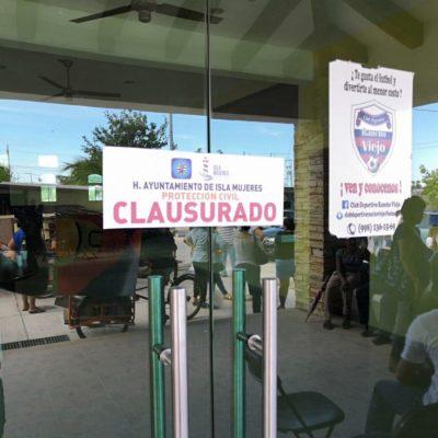 Clausura Ayuntamiento de Isla Mujeres posada del 'Indio Blanco'; acusa el empresario que es por 'represión política'