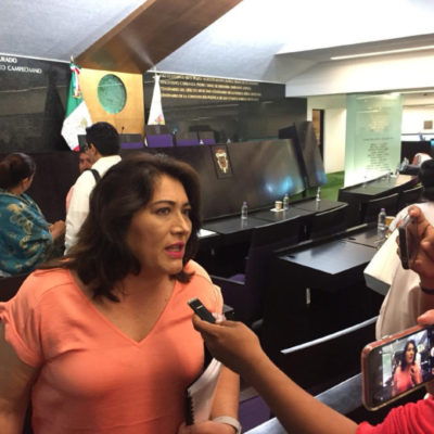 Paga Congreso de Campeche a empresa fantasma boletinada por el SAT, denuncia diputada panista