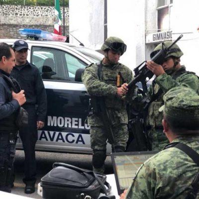 Pone el Ejército la mira en policías de tres municipios de Morelos