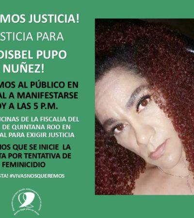 Genera indignación liberación de agresor de mujer golpeada; convocan a marcha de protesta hasta la Fiscalía