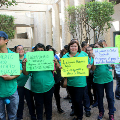 COLAPSA GOBIERNO DE TABASCO: Exigen burócratas cárcel para Núñez Jiménez por crisis en salud