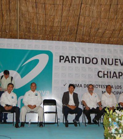 Resucita Nueva Alianza como partido local en Chiapas