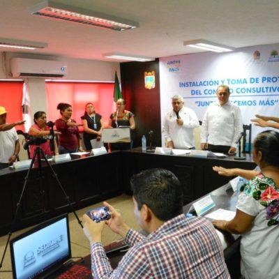 Instalan el Consejo Consultivo Ciudadano de Sedarpe en Felipe Carrillo Puerto