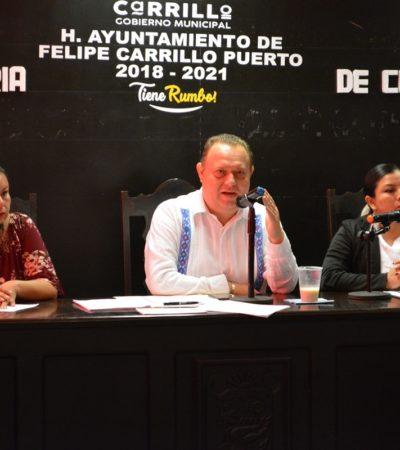 Aprueba Cabildo de FCP recinto oficial para toma de protesta de autoridades comunitarias y reformas a la Constitución Política de QR