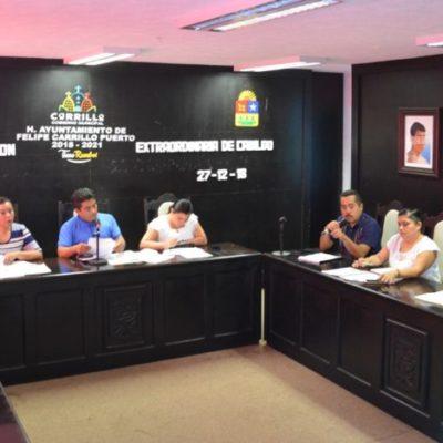 Aprueba Cabildo de Felipe Carrillo Puerto el pre-cierre de obras y acciones ejecutadas en el POA 2018