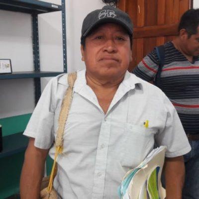 Productores mayas presentan pliego petitorio a AMLO; piden apoyos para el campo, una carretera y la reactivación de antigua línea de tren local