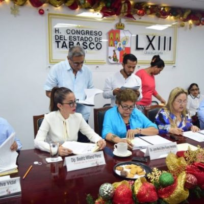 Reprueba Congreso a seis municipios de Tabasco por presuntos desvíos de casi 200 millones de pesos