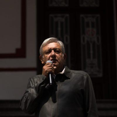 """Dice AMLO que asume el compromiso de investigar accidente en Puebla, """"decir la verdad sobre lo sucedido y actuar en consecuencia"""""""