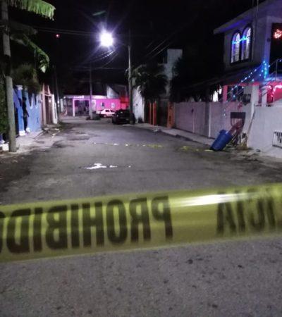 """""""FELIZ NAVIDAD"""": Ejecutan a un hombre en la SM 58 de Cancún y le dejan narcomensaje"""