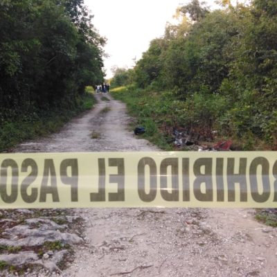 Hallan cuerpo de mujer embolsada en Cancún