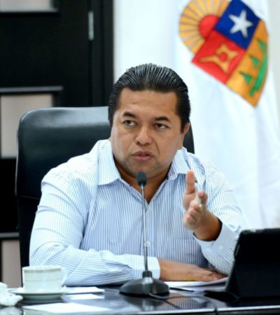 Anticipa Emiliano Ramos autorización a Cozumel para cobro por Derecho de Saneamiento Ambiental