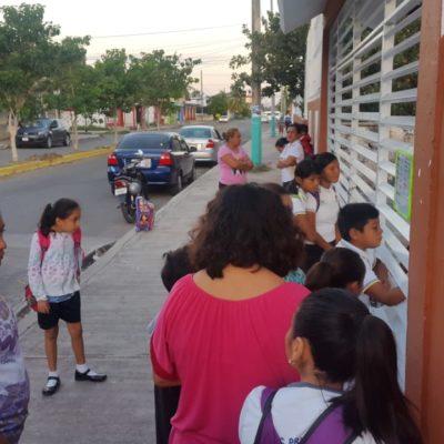 Anuncian cambio de horario en escuelas de Cozumel