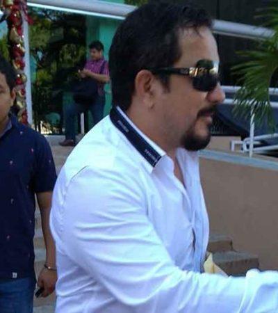 Escupe diputado morenista de Tabasco a un abogado por llamarle 'burro'