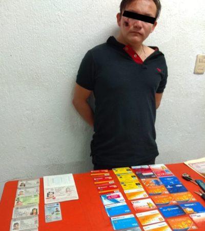 Cae falso reclutador que se robaba documentos en Playa del Carmen
