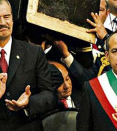 Advierten Fox y Calderón que a AMLO le irá bien, si hace lo que ellos no se exigieron a sí mismos