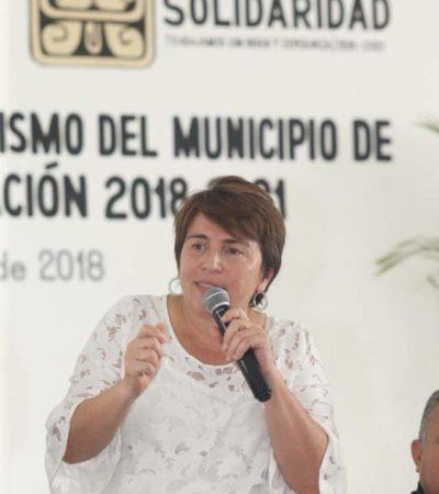 """""""YO NO SOY TRÁILER PARA EMPUJAR A LOS DEMÁS"""": Estalla Laura Beristaín ante críticas del sector empresarial de la Riviera Maya"""