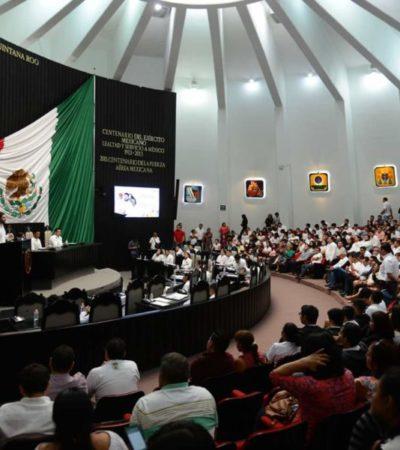 Integrantes del Observatorio Legislativo acusan de golpe político contra el sistema anticorrupción de QR