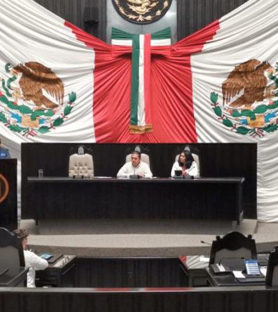 Intensa sesión para aprobar Ley de Ingresos y Presupuesto de Egresos de QR; crean la Junta de Coordinación Política que sustituye a la figura de la Gran Comisión en el Congreso local
