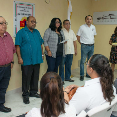 Imparte ASEQROO taller anticorrupción a trabajadores del Poder Legislativo