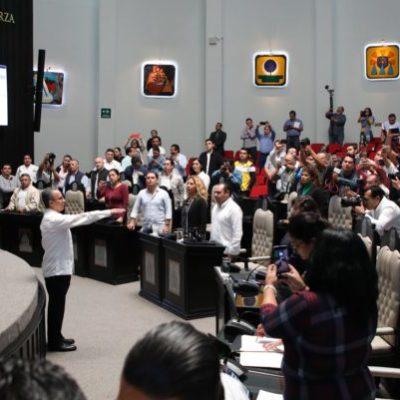 BOLA CANTADA EN EL CONGRESO: Con 22 votos a favor, diputados eligen a Oscar Montes de Oca como nuevo Fiscal General de Quintana Roo