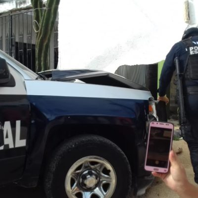 Patrulla estatal causa fatal accidente en Cancún