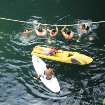 Aumenta vigilancia en Ruta de los Cenotes por presencia de turismo en Puerto Morelos