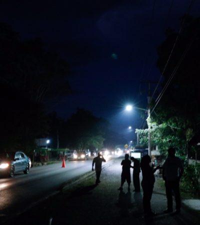 Inician labores para dotar de energía varias zonas de Leona Vicario