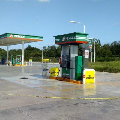 Asaltan gasolinera en Carrillo Puerto y se llevan 60 mil pesos